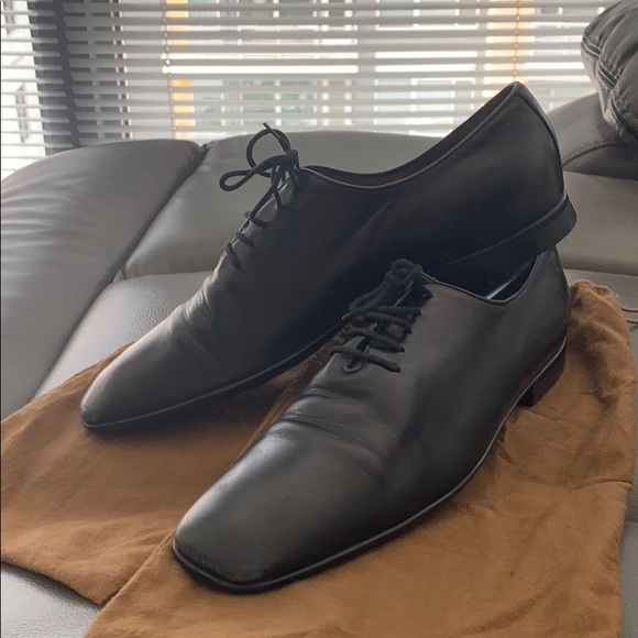 Gucci Other - Men's Gucci classic black leather dress shoes